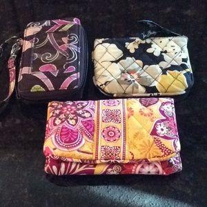 Vera Bradley Bundle of wallets